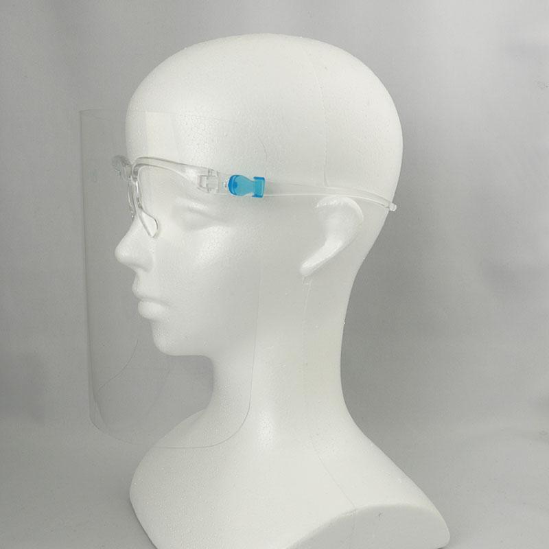フェイスシールド・フェイスガード(メガネ型)のOEM生産