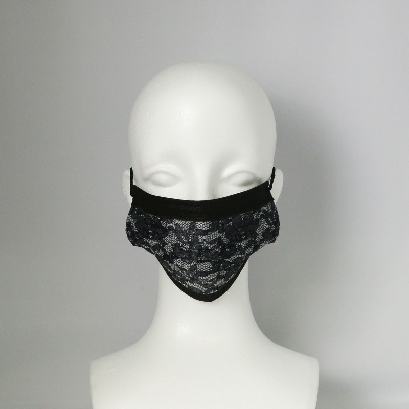 レース柄不織布マスクのOEM生産