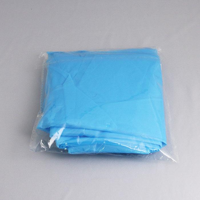 使い捨てエプロン(袖口ゴムタイプ)OEM生産