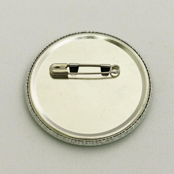 ホロフィルム缶バッチのOEM生産