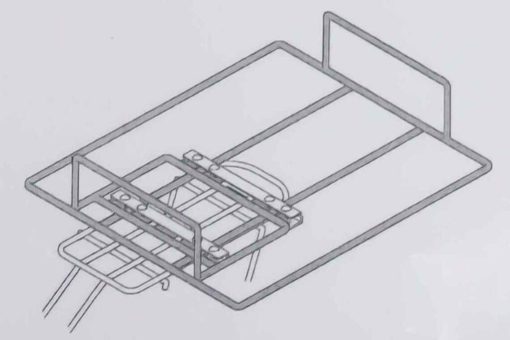 自転車金属キャリアーのOEM生産